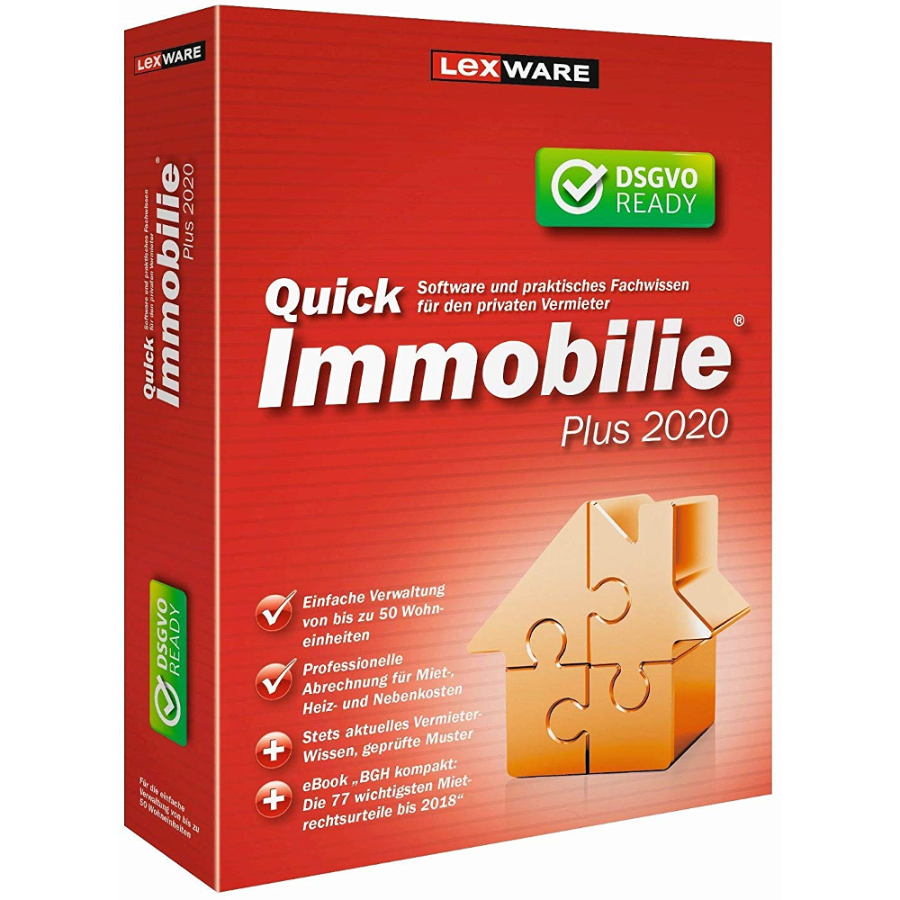 Lexware Quickimmobilie plus