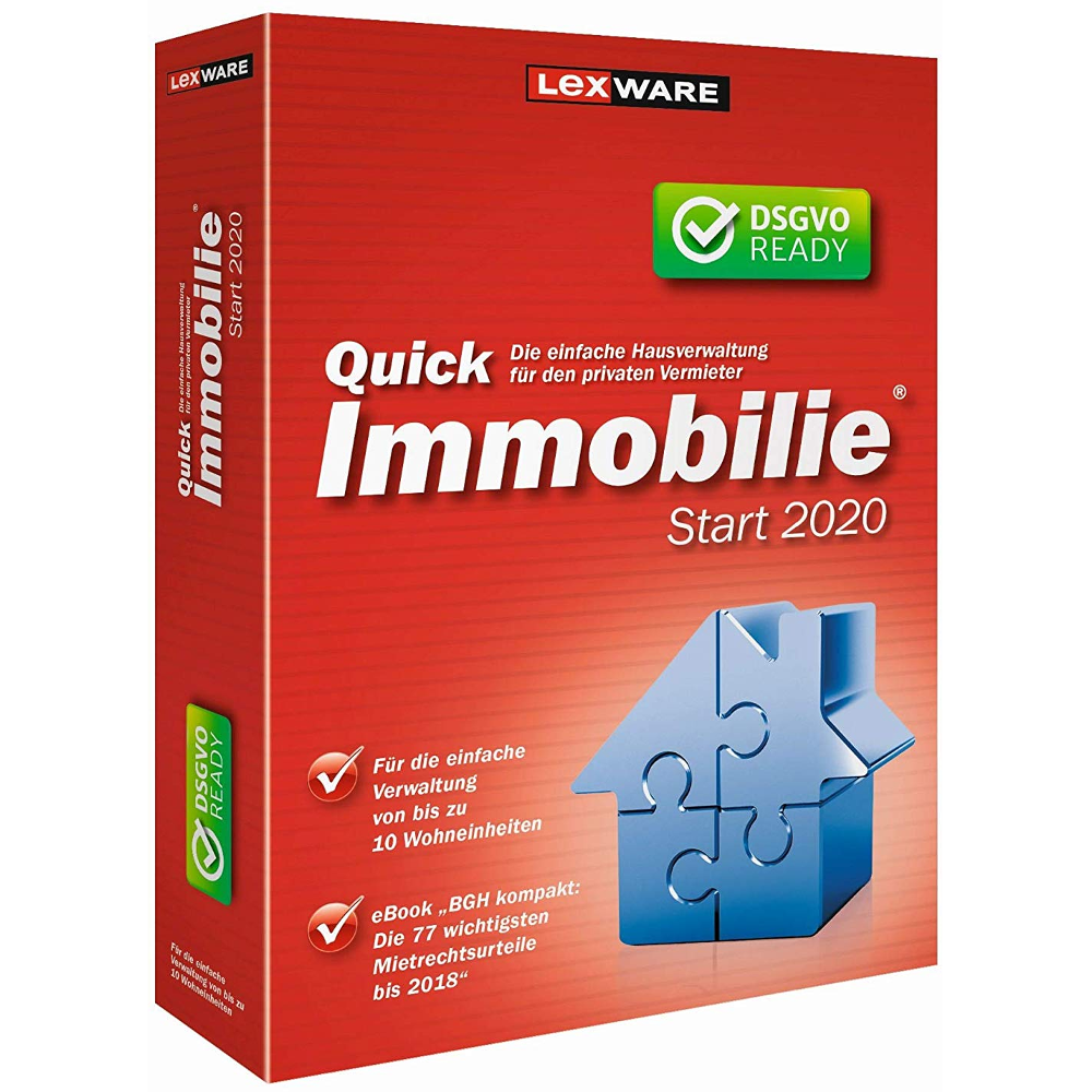 Lexware Quickimmobilie start