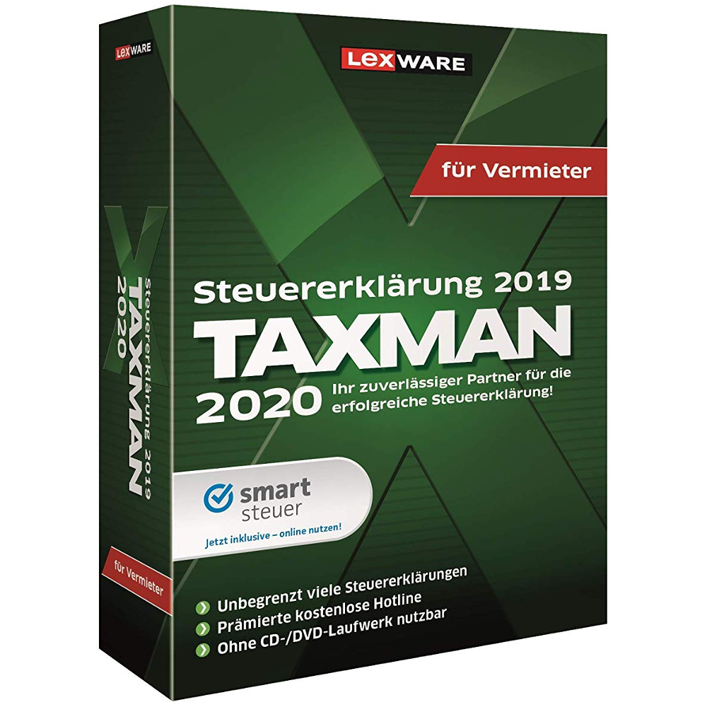 Lexware TAXMAN für Vermieter