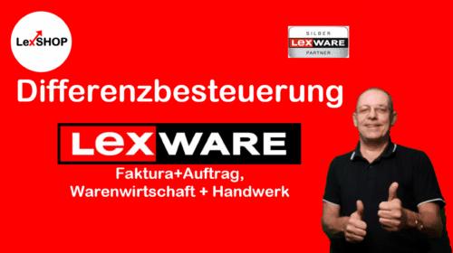 Differenzbesteuerung für Lexware Faktura und Warenwirtschaft