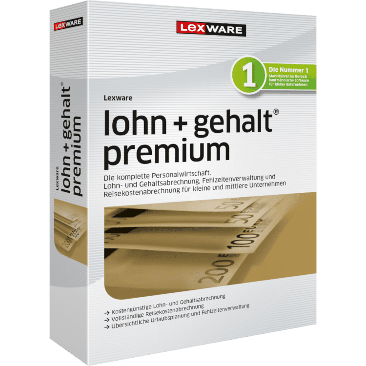 Lexware Lohn+Gehalt premium