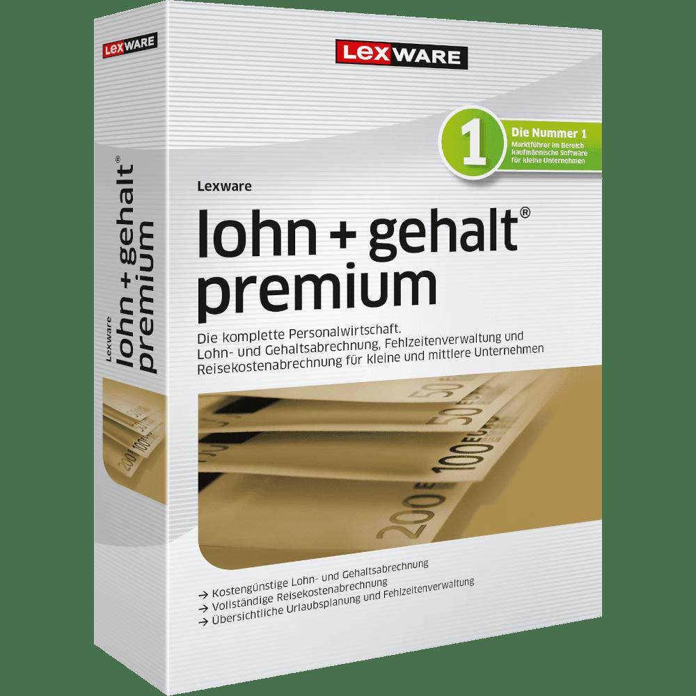 Lexware lohn+gehalt premium – unser bestes Lohnabrechnungsprogramm